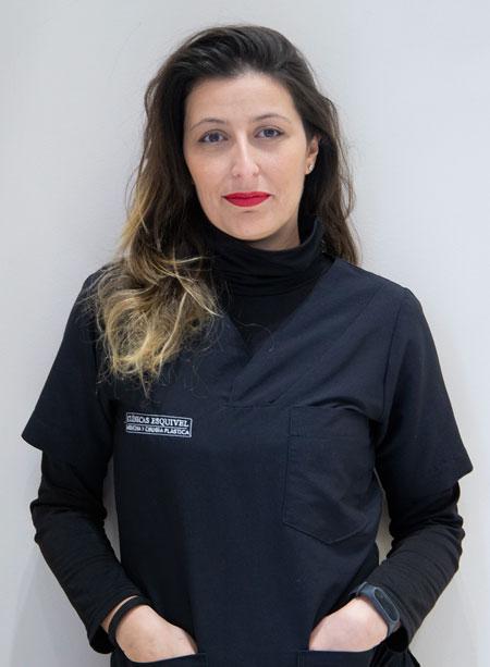 Esteticista: Lorena